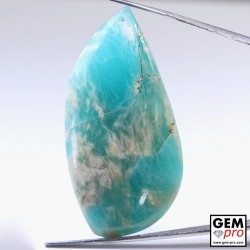 66.37 ct Fancy Blue Amazonite AA Quality Gemstone from Madagascar Natural and Untreated