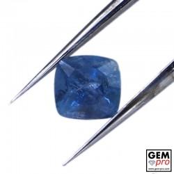 Blue Santa Maria Africana Aquamarine 0.92 ct Cushion Cut from Madagascar Natural and Untreated Gemstone