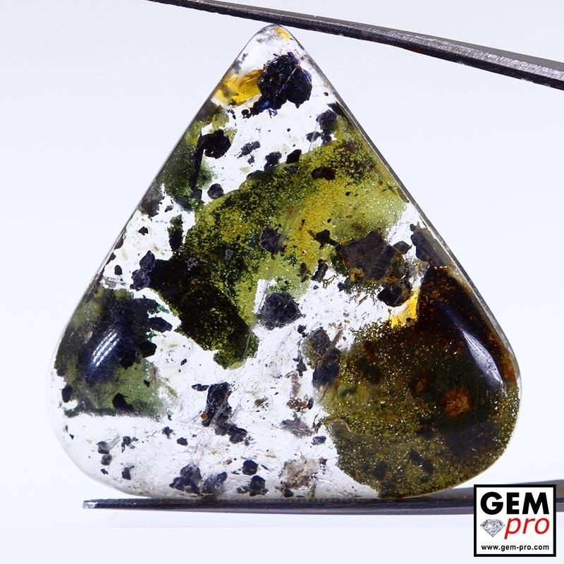 57.06 Carat Quartz à Chlorite et Hématite Gemme de Madagascar