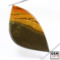 48.53 ct Multicolor Desert Jasper Gemstone from Madagascar Natural and Untreated