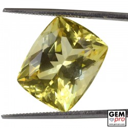 13.78 Carat Golden Scapolite Gems from Madagascar