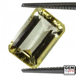 3.74 Carat Golden Scapolite Gems from Tanzania