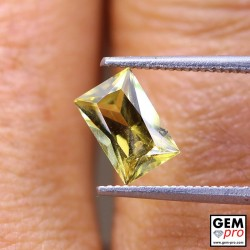 1.33 ct Golden Chrysoberyl Gem from Madagascar