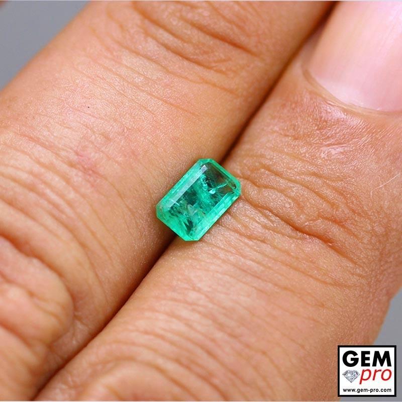 0.60 Carat Green Emerald Gem from Madagascar