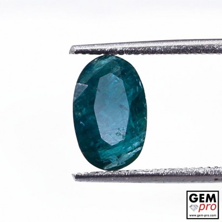 1.50 Carat Greenish-Blue Grandidierite Gem from Madagascar Natural and Untreated