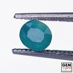 0.40 Carat Greenish-Blue Grandidierite Gem from Madagascar Natural and Untreated