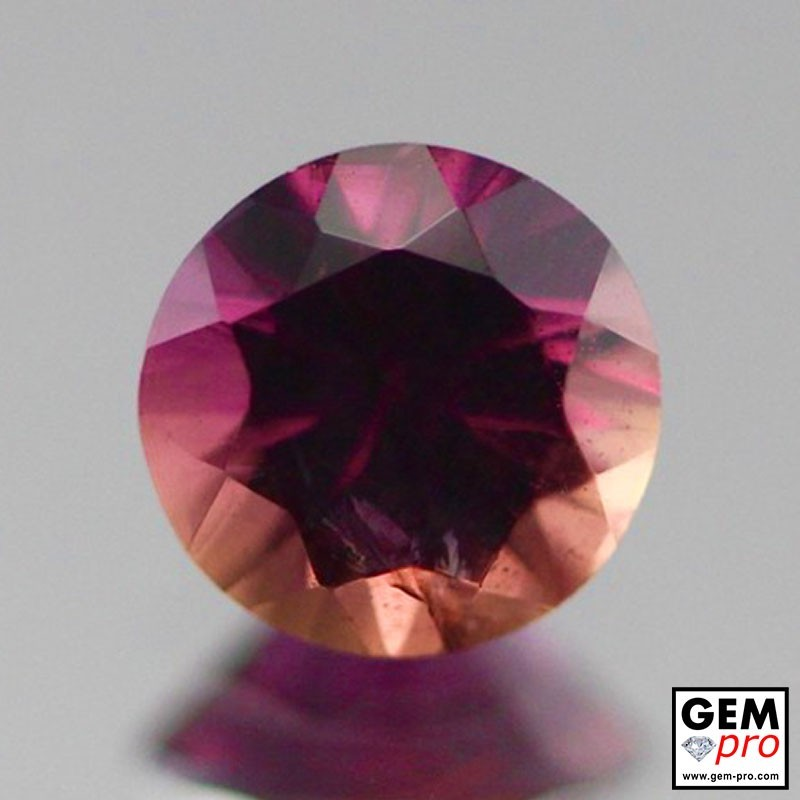 0.81 carat Orange-Pink Sapphire Gem from Madagascar