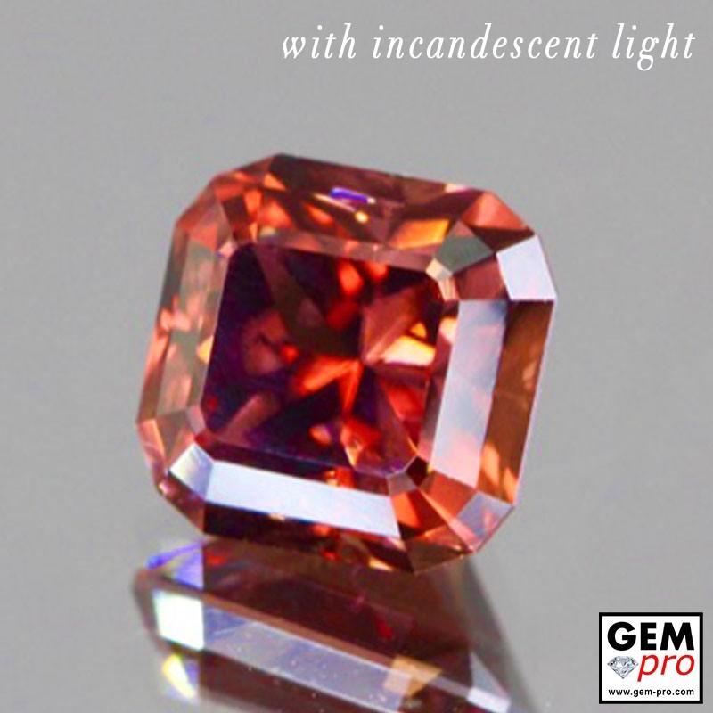 1.86 Carat Multicolor Color-Change Sapphire Gems from Madagascar