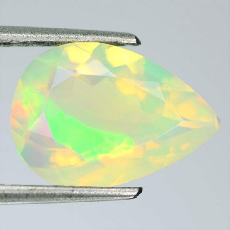 3.29 Carat Opale Welo Facettée