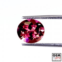 2.09 ct Rose Pink Tourmaline Gem from Madagascar Natural and Untreated