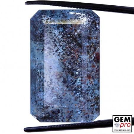 Blue Aquamarine 26.86ct Octagon Madagascar Natural and Untreated Gemstones
