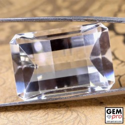 27.60 ct Colorless Quartz Gem from Madagascar Natural and Untreated