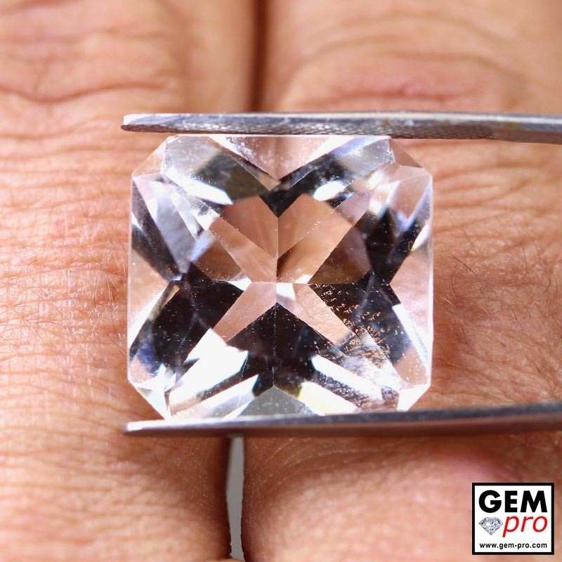 19.00 ct Colorless Quartz Gem from Madagascar Natural and Untreated