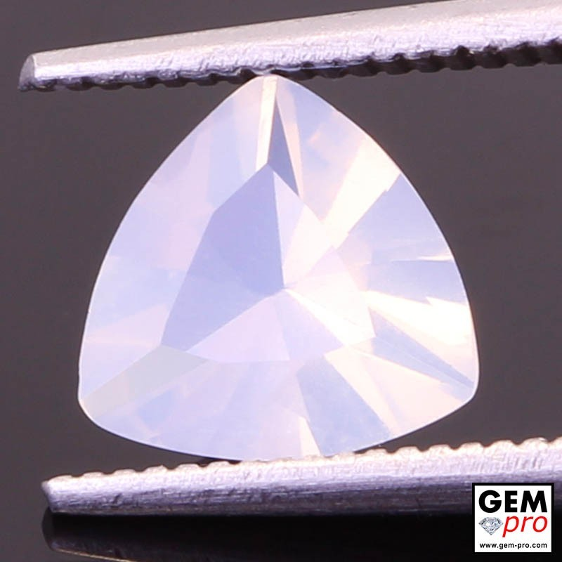 0.99 ct White Opal Gem from Madagascar Natural and Untreated