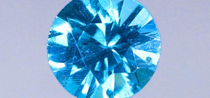Découvrir l'Apatite Paraiba bleue néon