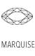Acheter Gemmes et Pierres Précieuses Forme Marquise