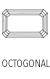 Acheter Gemmes et Pierres Précieuses de forme octogonale