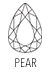 Buy Shop Pear Cut Gemstones