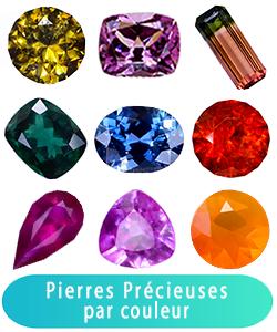 Acheter, Achat Pierres Précieuses par couleur